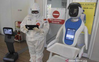 Amerika Serikat mengeluarkan robot untuk memunuh virus Covid-19