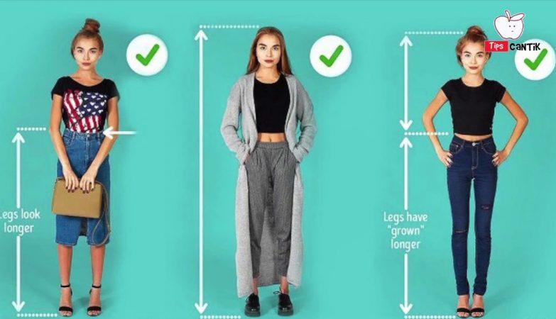 Agar Terlihat Lebih Tinggi Siasati dengan Model Pakaian Berikut